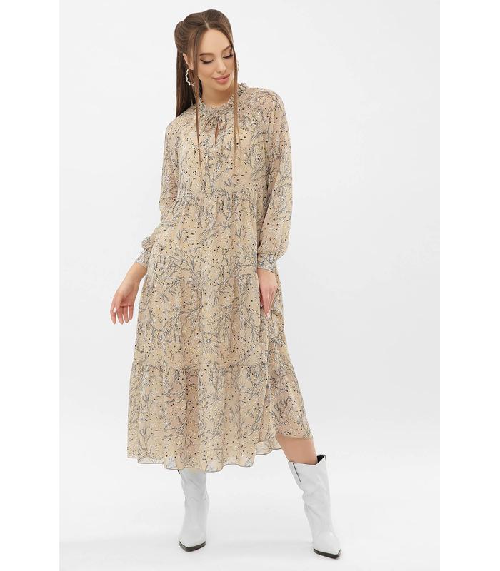 Сукня Маріетта BG, шифонова сукня міді