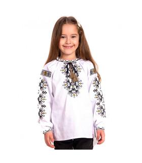 Детская вышиванка мод.7703, вышиванка для девочки