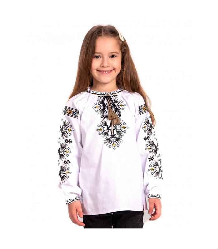 Дитяча вишиванка мод.7703, вишиванка для дівчинки