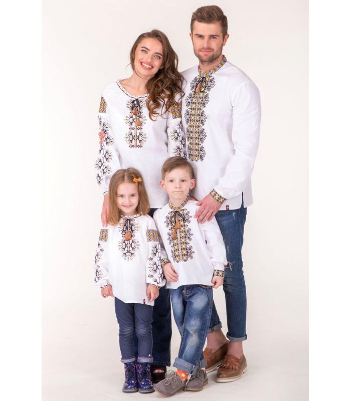 Семейная коллекция вышиванок Буковина мод.8