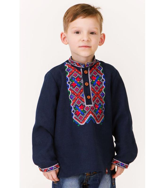 Детская вышиванка мод.7701