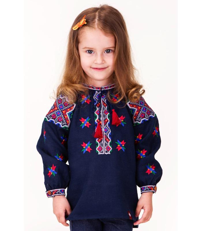 Детская вышиванка мод.7702