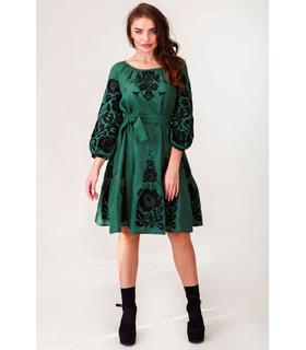Вишитое льняное платье мод.0032