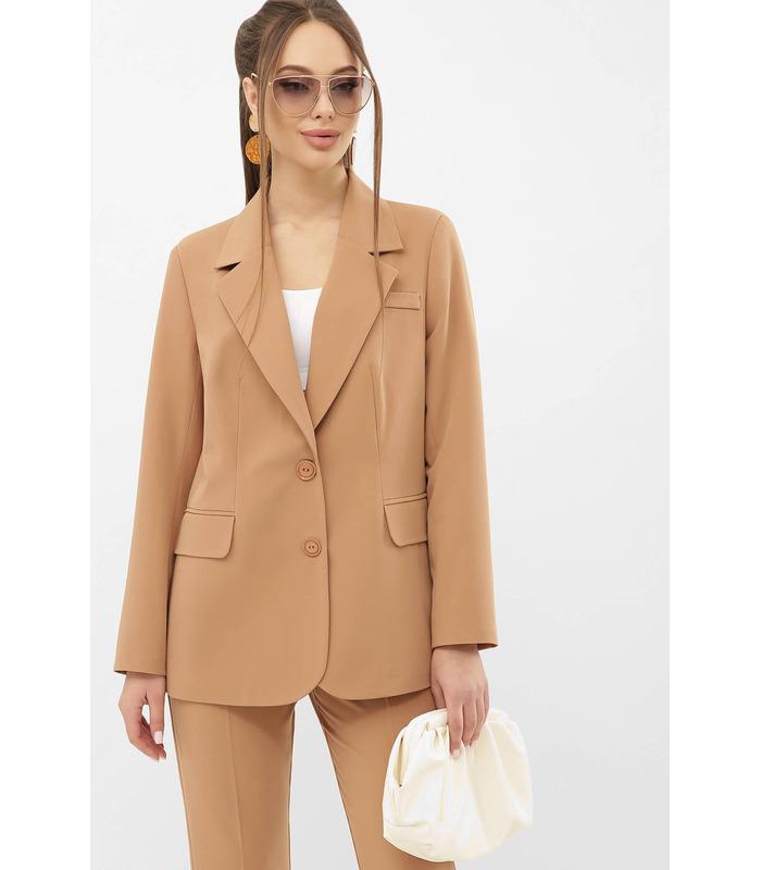 Пиджак Сабера BG, бежевый женский пиджак
