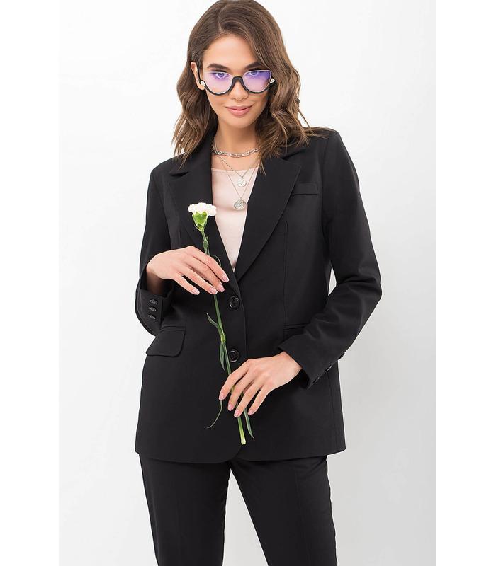 Пиджак Сабера CH, черный пиджак