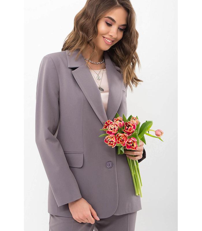Піджак Сабера GR, сірий жіночий піджак
