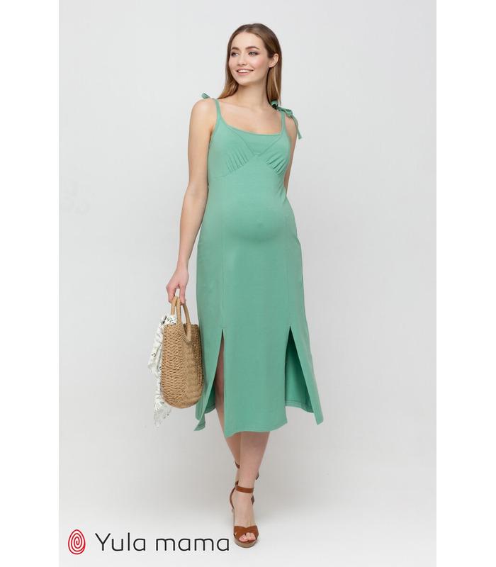 Сарафан Долорес PH, зелений сарафан вагітним та годуючим