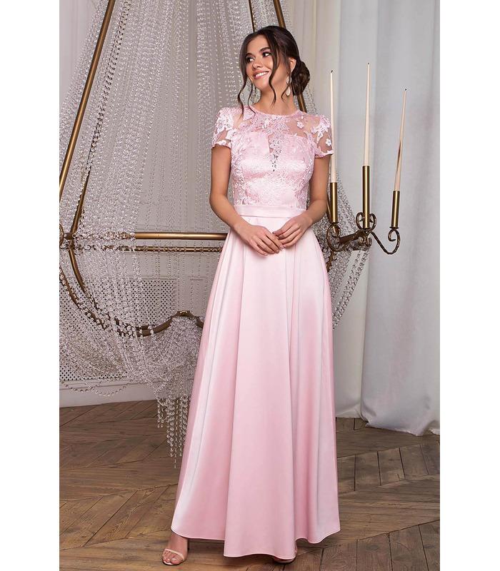 Платье Лорена PP, розовое вечернее платье