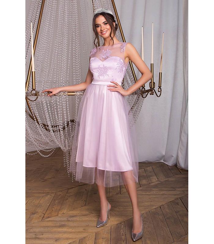Платье Паиса VI, сиреневое пышное платье