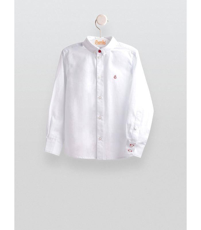 Рубашка детская РБ93, белая детская рубашка