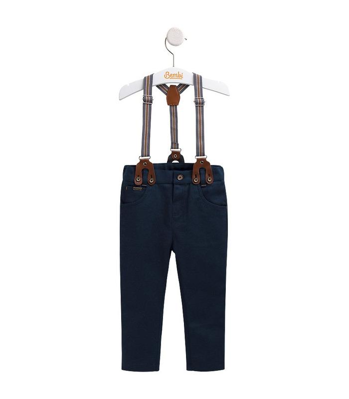 Штаны детские ШР501, детские брюки с подтяжками
