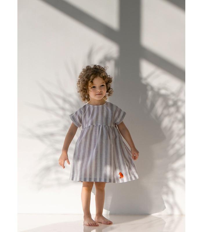 Платье детское ПЛ336 GR