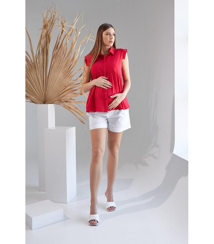 Блуза Анж, красная блуза беременным