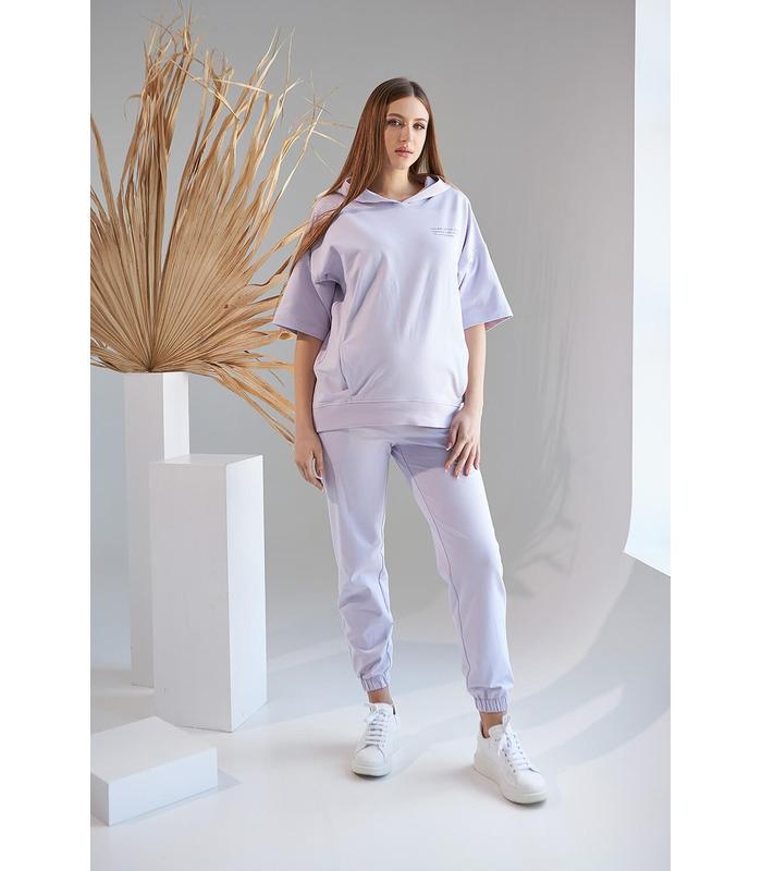 Костюм Рената LA, фиолетовый костюм беременным и кормящим