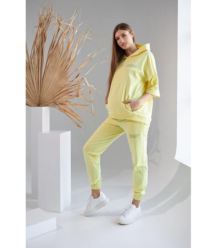 Костюм Рената YE, желтый костюм беременным