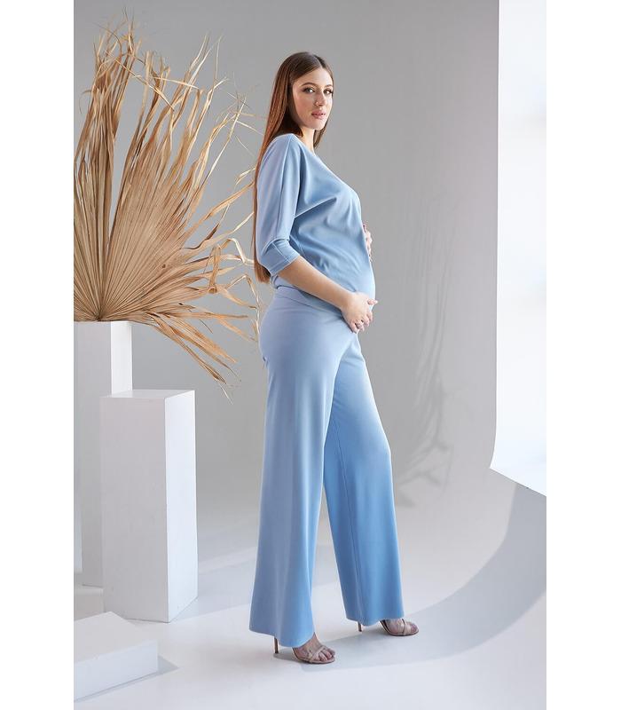 Костюм Яра-1 BB, блакитний костюм вагітним