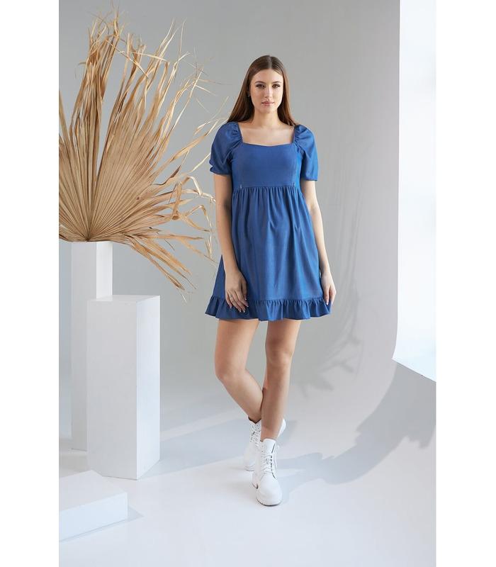 Сукня Алет, джинсова сукня вагітним та годуючих