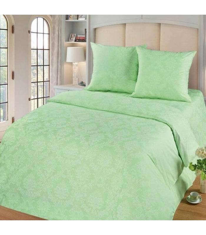 Комплект постельного белья Изумруд ᐉ качественный поплин, доступная цена ※ Украина