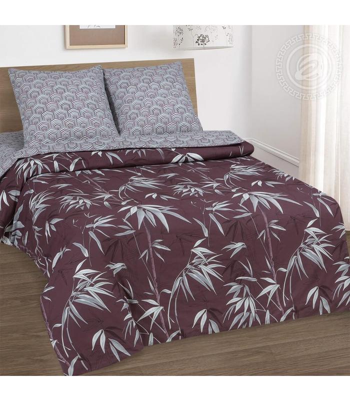 Комплект постельного белья Бамбук ᐉ качественный поплин, доступная цена ※ Украина