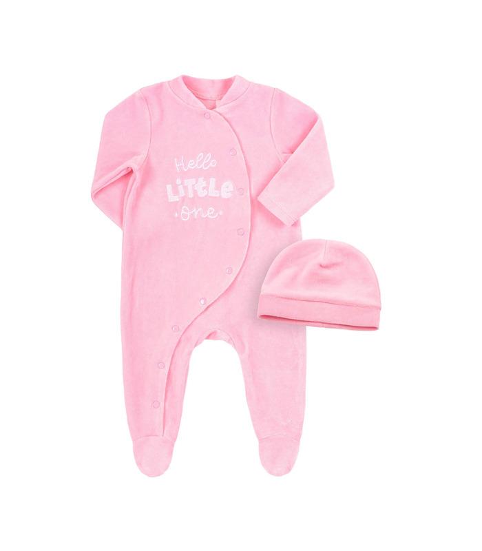 Комплект дитячий КП246 RO, рожевий компект малюкам