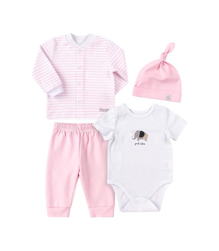 Комплект дитячий КП251 RO, рожевий дитячий комплект