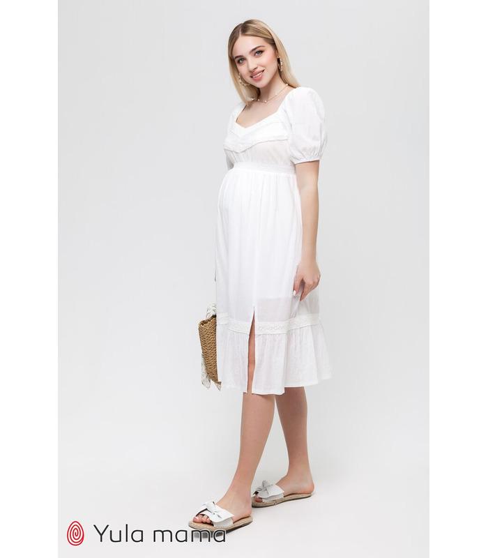 Платье Бланше, летнее платье беременным и кормящим