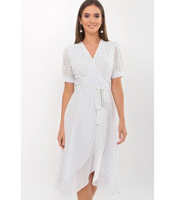 Платье Алеста-1 WG, шифоновое летнее платье на запах