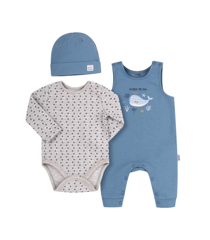 Комплект дитячий КП252 BB, блакитний комплект хлопчику