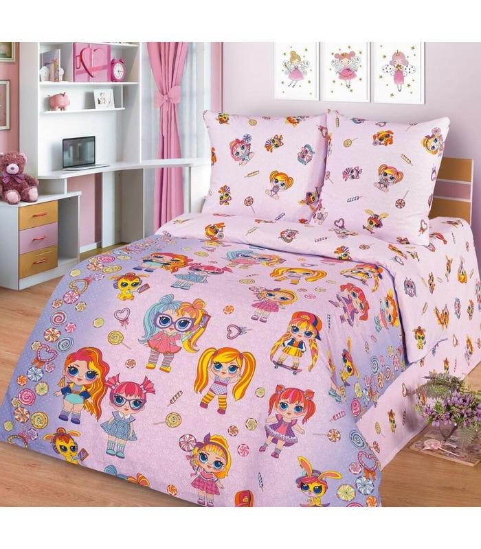"""Детское постельное белье """"Lolita"""" ᐉ натуральная ткань поплин, пошито в Украине"""