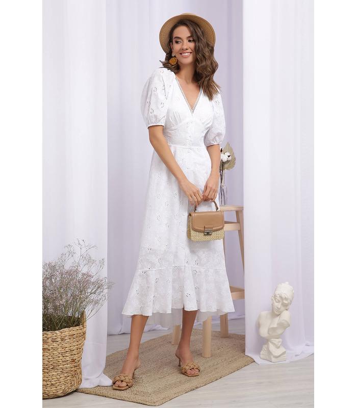 Сукня Саммері, біла літня сукня з прошви