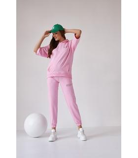 Костюм Рената RO, рожевий костюм вагітним та годуючим