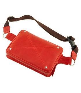 """Шкіряна сумка на пояс """"DropBag""""."""