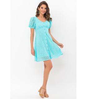 Платье Эдна BI, платье мини из прошвы