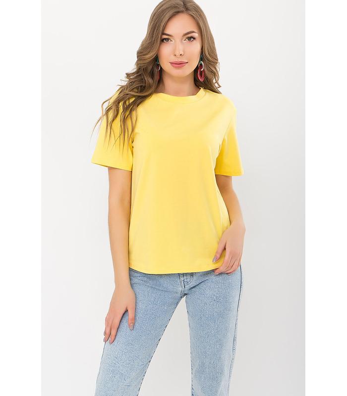 Футболка Фрізе YE, жовта футболка