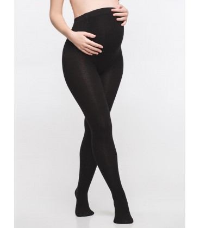 Теплі колготи для вагітних з бамбуковим волокном 250 Den.