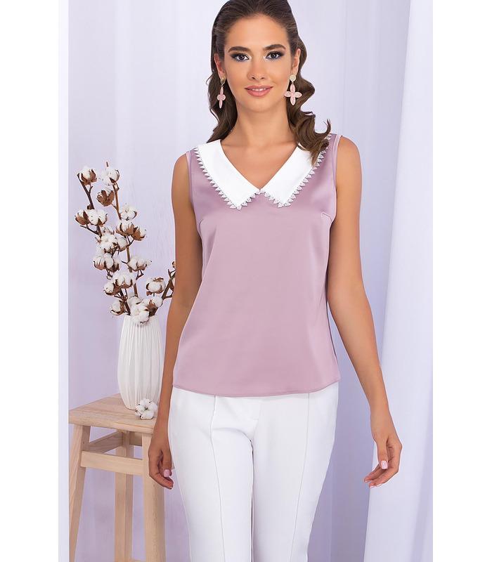 Блуза Мурел LI, фіолетова літня блуза