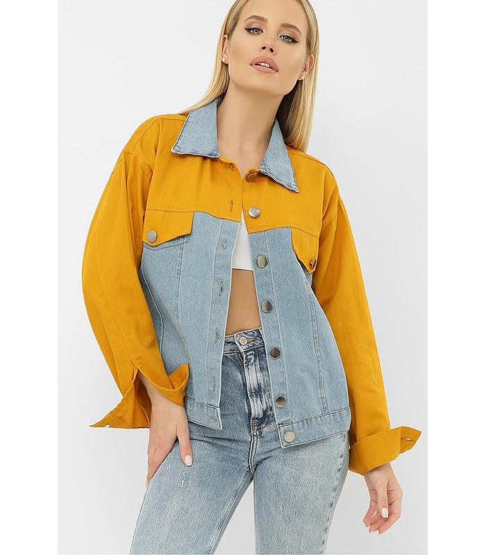 Джинсова куртка 106 VE YE
