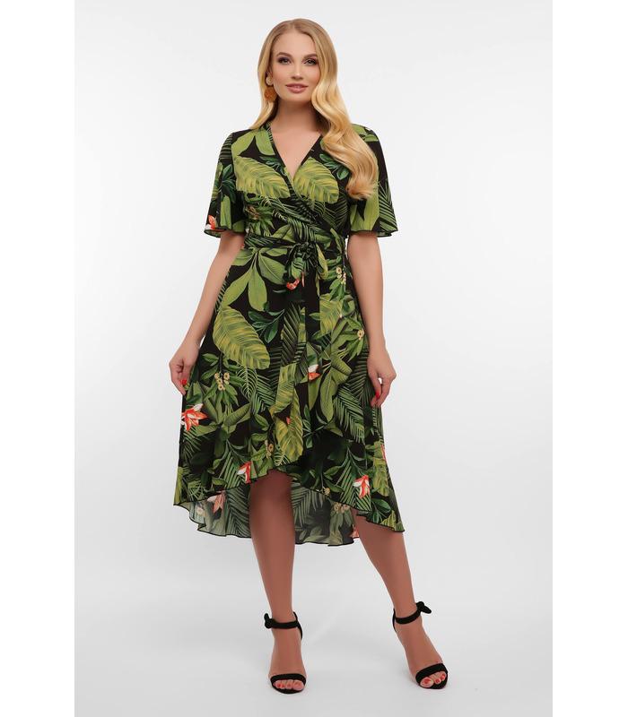 Платье Алесия-1 ПК CH, летнее платье для полных