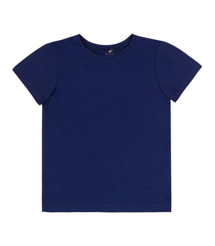 Футболка детская ФБ866 TS, синяя футболка на физкультуру