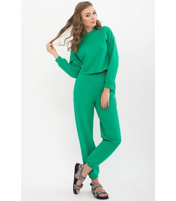 Костюм Милета GR, зеленый костюм