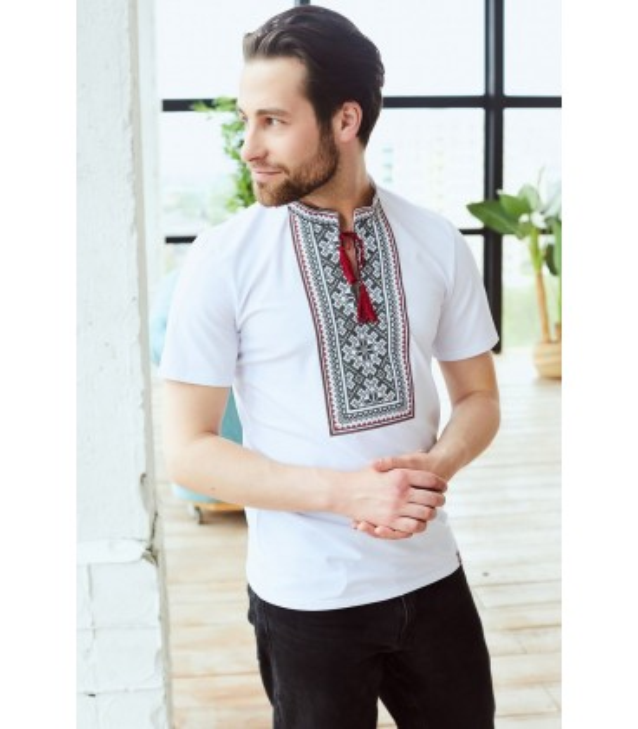 Чоловіча вишита футболка мод.107