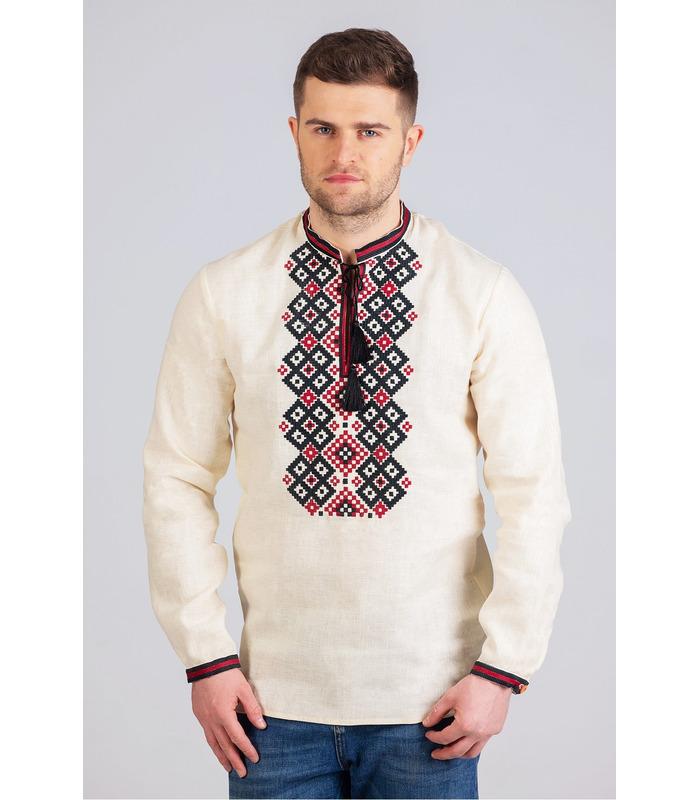 Мужская вышиванка мод.7013
