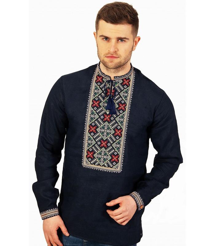 Мужская вышиванка мод.7011