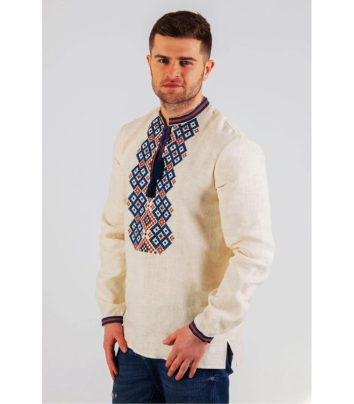 Мужская вышиванка мод.7012