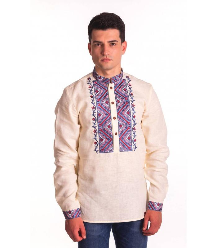 Мужская вышиванка мод.4011
