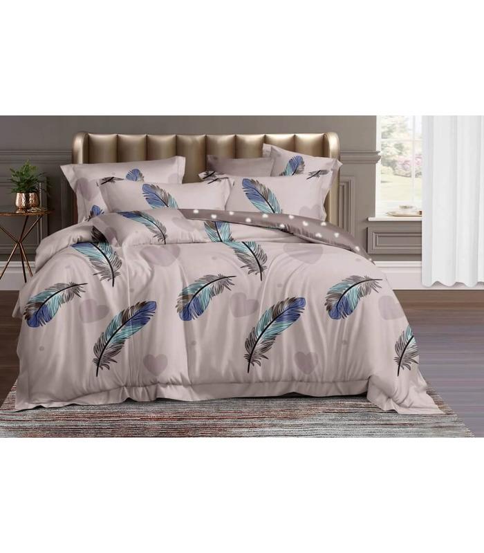 Комплект постельного белья Перо ᗍ сатин ※ Украина, натуральная ткань