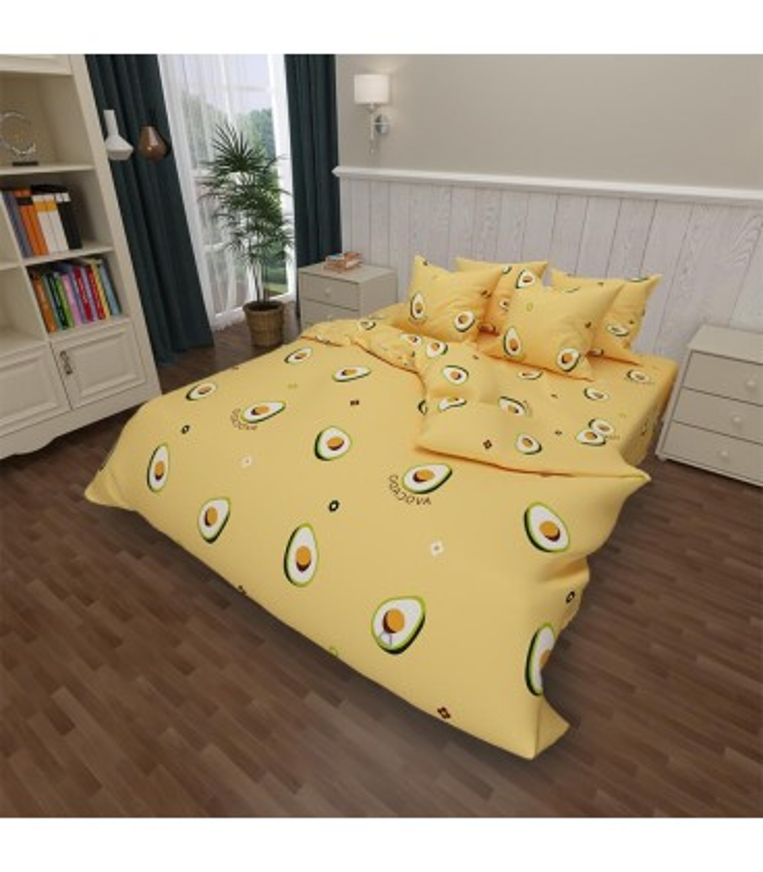 Постельное белье Avocado ᗍ бязь. Пошито в Украине ᗈ натуральная ткань | МамаТато